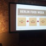 Berlin Food Week: neue Plattform für die Foodwelt ab 2014