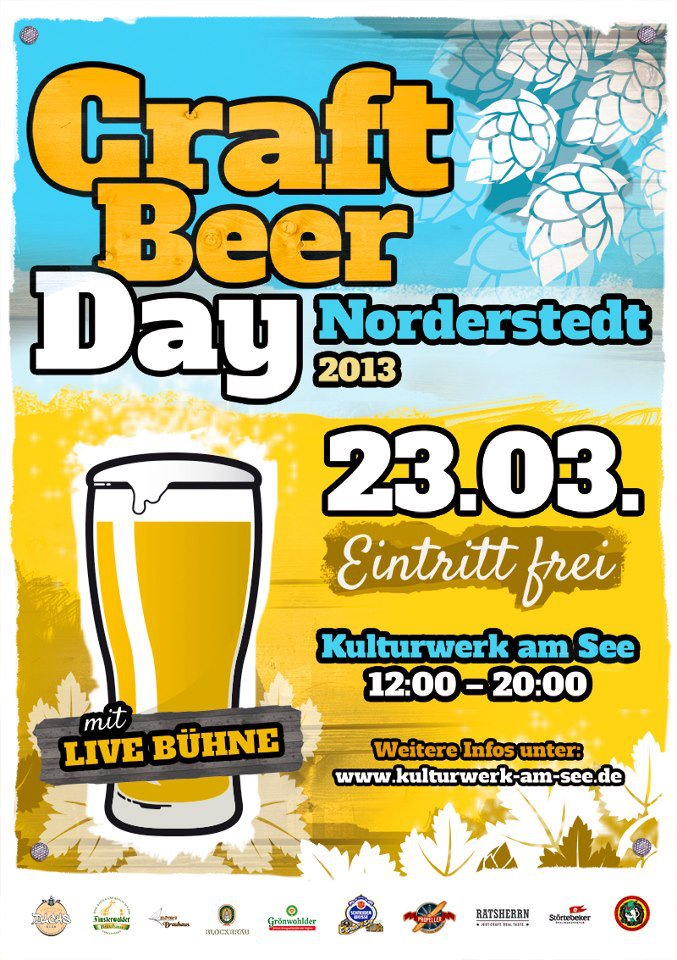 Craft Beer Day1 - interviews-portraits nomyblog Terminhinweis: Craft Beer Day in Norderstedt