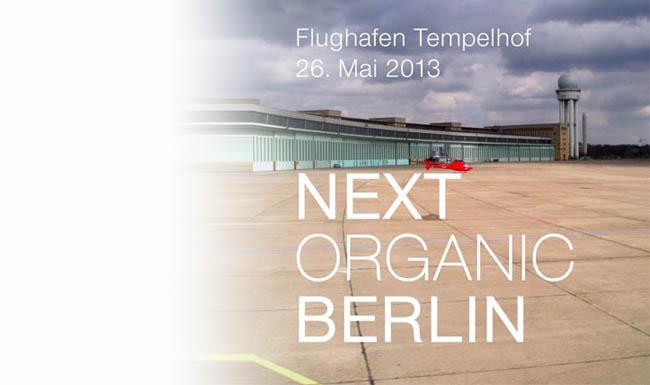 Next Organic Berlin 2013