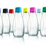 Retap: Wasserflaschen für die Gastronomie, gebrandet von Designgrill