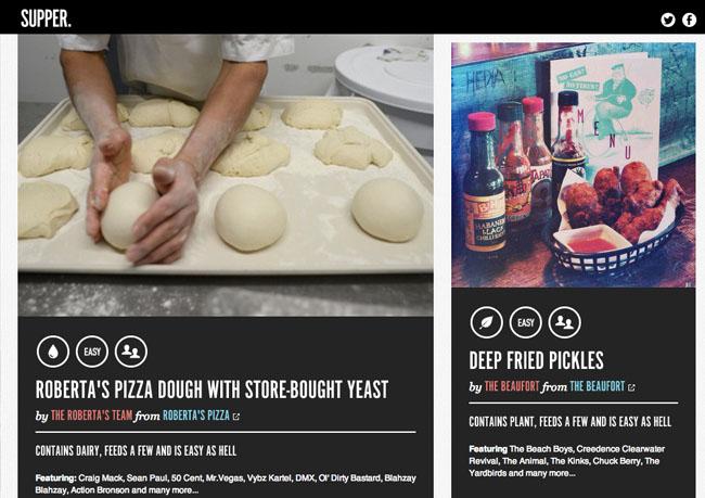 Supper - medien-tools food-nomyblog Supper: Spotify-App liefert den Soundtrack zum Kochen und Essen