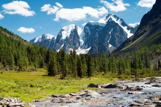 Das Altai-Gebirge