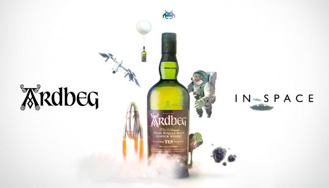 ardbeginspace - getraenke Whisky im Weltraum: Ardbeg in Space