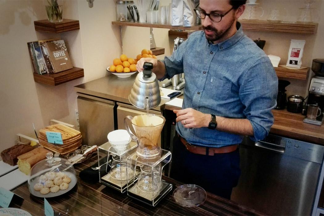ben rahim - gastronomie Kunstvoller Kaffee-Genuss: Specialty Coffee in Berlin
