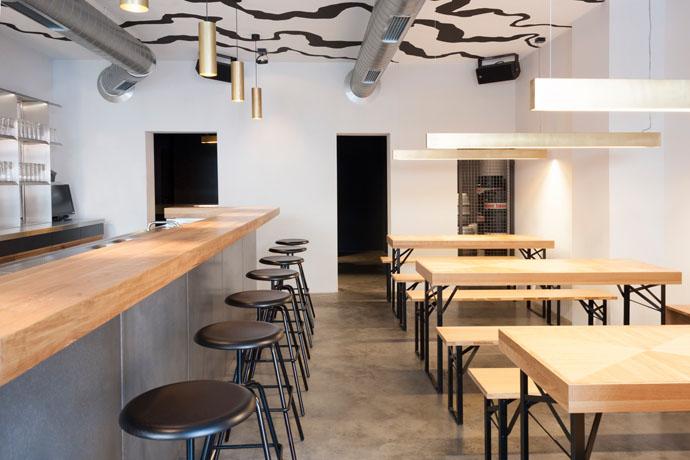 boeheim gastraum - gastronomie Wie man aus einer todgeweihten Brauerei eine moderne Craft-Bier-Marke macht: Bœheim