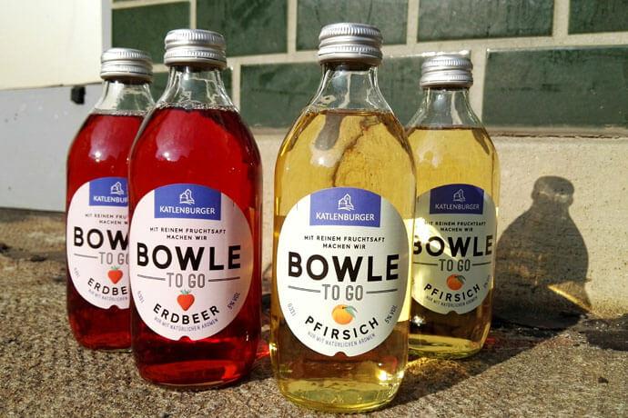 bowle to go - getraenke Getränke-Klassiker im modernen Look: die Bowle To Go von Katlenburger