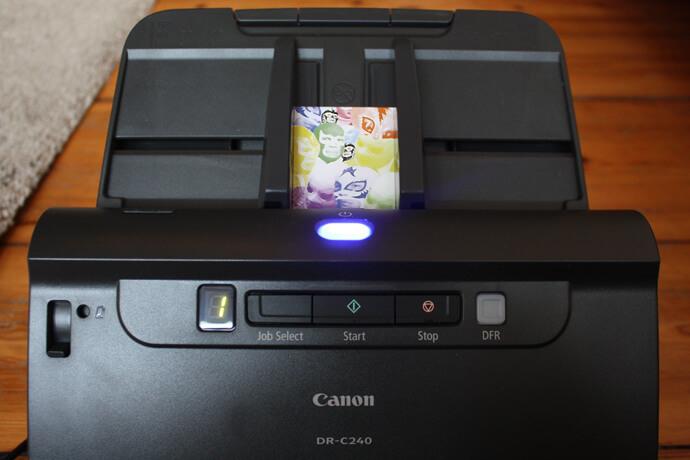 canon2 - medien-tools Ein Canon Business Produkt öffnet die Tür ins papierlose Büro: Arbeitsplatzscanner imageFORMULA DR-C240
