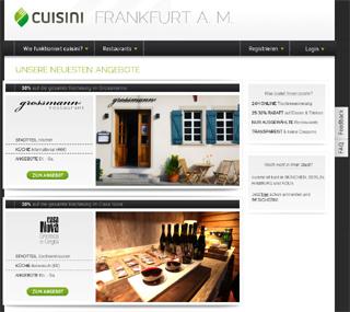 cuisini: Reservierung mit Rabatt für ausgewählte Restaurants