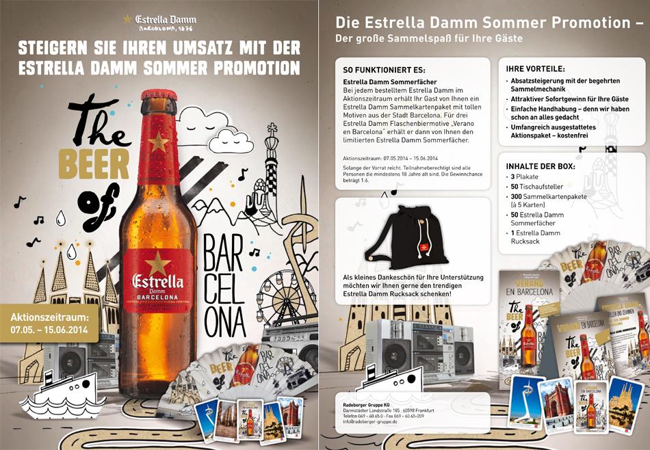 estrella promo - getraenke nomyblog Estrella Damm Sommerpromotion: Barcelona- statt Fußball-Motive sammeln