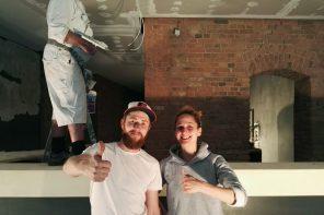 Arbeiten mit Hochdruck an den Wiedereröffnungen ihrer Bars: Lutz Rau und Aishah Bennett