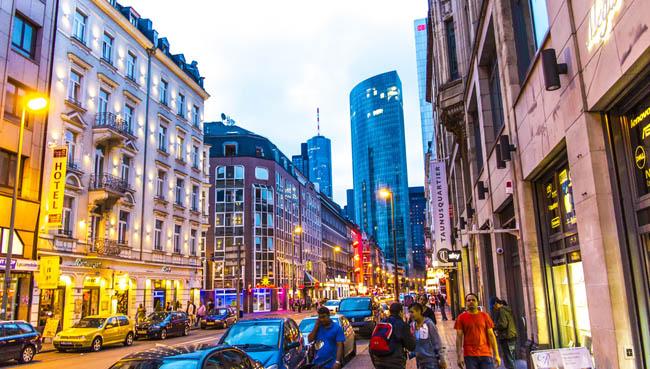 Frankfurt Viertel Meiden