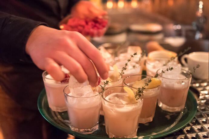 Friedrichs Dry Gin-Tasting in Hamburg am 01.12.2016