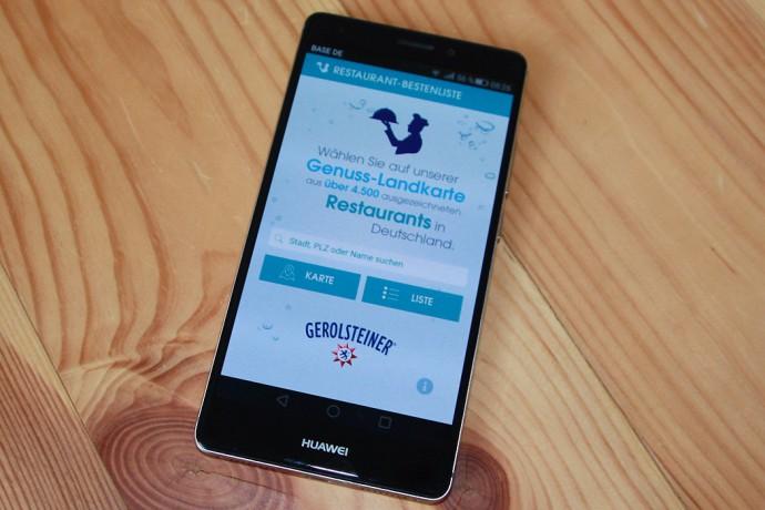 Geschützt: Mobiler Begleiter für Genießer: die Gerolsteiner Restaurant-Bestenliste 2016 als App