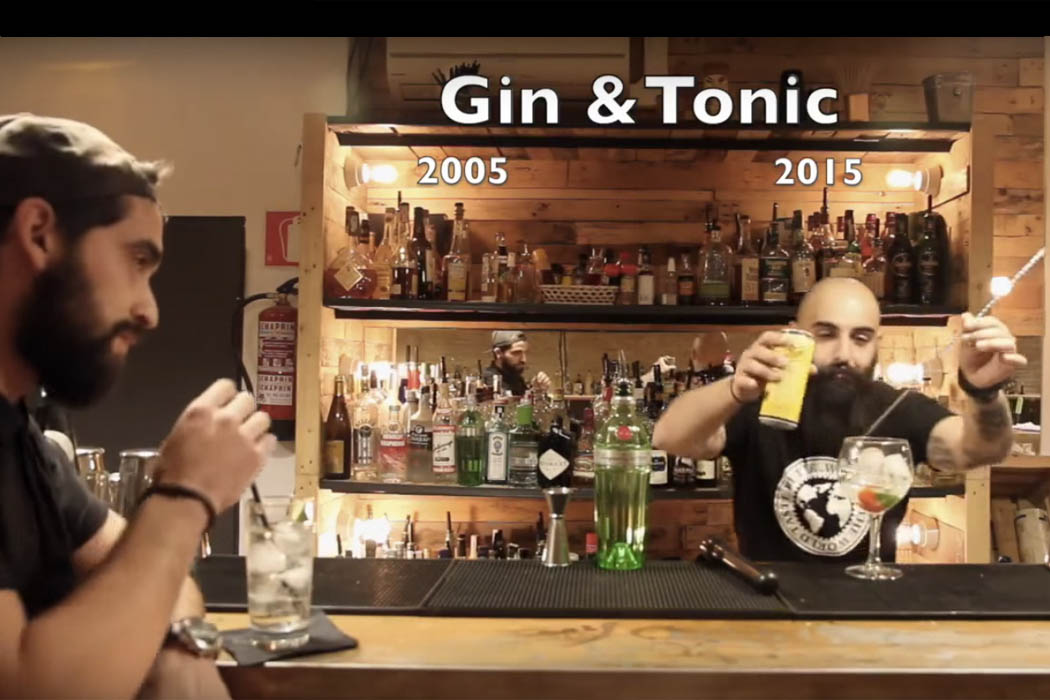 video gin tonic 2005 gin tonic 2015 nomy. Black Bedroom Furniture Sets. Home Design Ideas