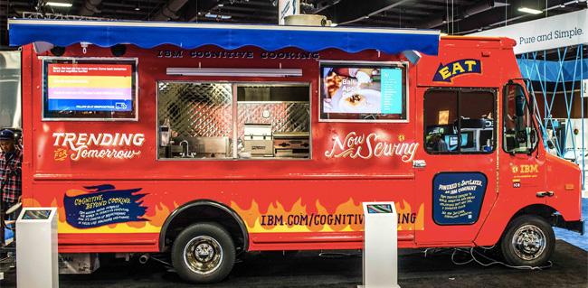 ibm food truck - food-nomyblog nomyblog IBM-Foodtruck serviert computergeneriertes Essen
