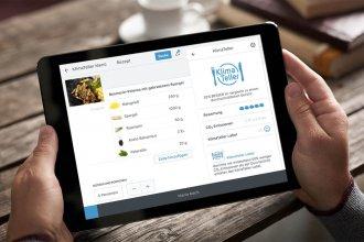 """klimateller app 330x220 - medien-tools, management, gastronomie, food-nomyblog So bieten Gastronomen mit dem neuen Tool """"KlimaTeller"""" nachhaltige Speisen an"""