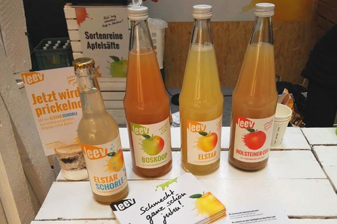 leev apfelsaft - getraenke 7 neue Getränke von der Internorga 2016