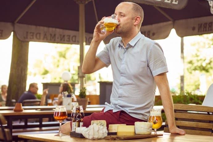"nicolas soenen 1 690x460 - getraenke, gastronomie, food-nomyblog, bier Nicolas Soenen, Sommelier: ""Bier und Käse bietet unglaublich interessante Kombinationen"""
