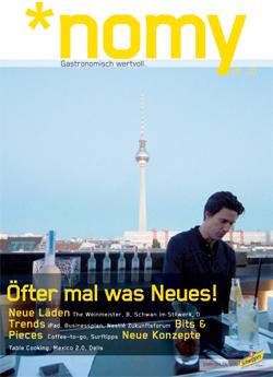 Die neue *nomy: Ausgabe 5/2010