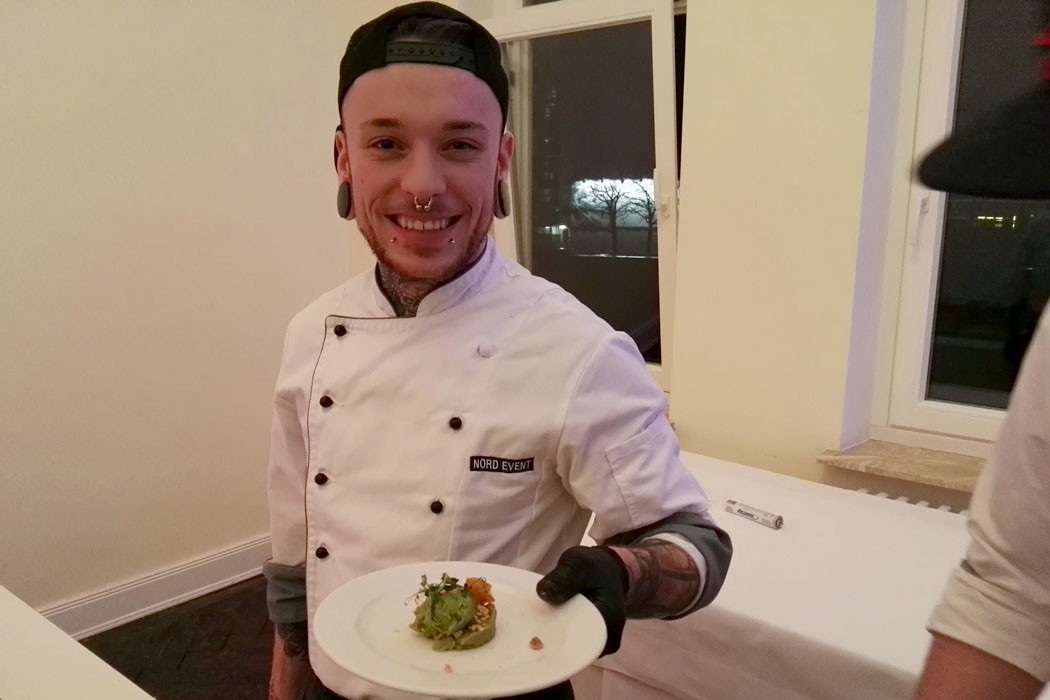 """nord event 1 - gastronomie events Genießen auf den Spuren der Seefahrer: Das war die """"Chef's Night"""" 2017"""