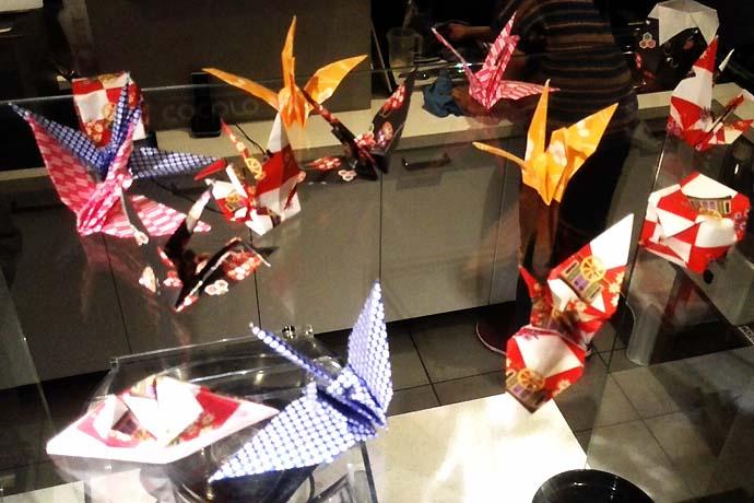 origami - getraenke Let´s talk about Sake, Baby!