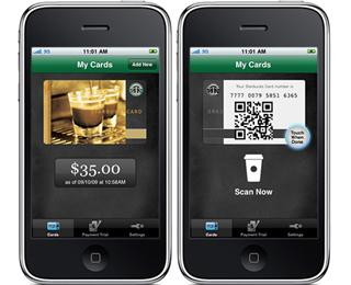 iPhone wird zur Starbucks-Kundenkarte mit Bezahlfunktion