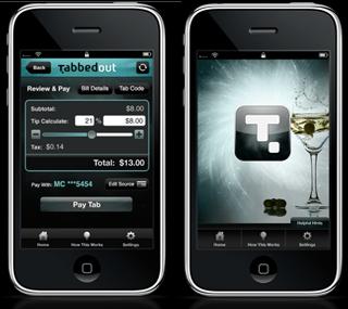Digitaler Deckel: Mit TabbedOut Kneipen-Rechnung per iPhone bezahlen