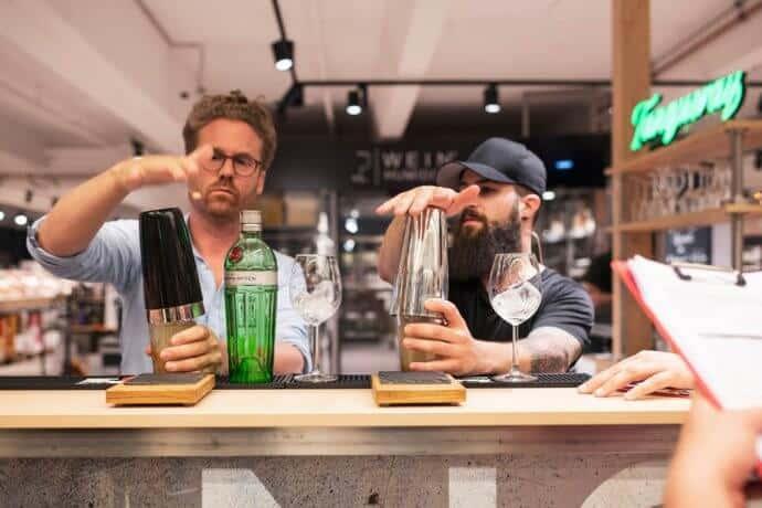 tanqueray1 690x460 - spirituosen, events nomy hinterm Tresen: Einsatz bei der World Class Bartender of The Year 2019 Germany Competition