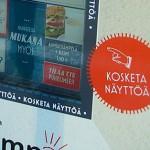 Helsinki: Outdoor-Touchscreen für Restaurant-Reservierung