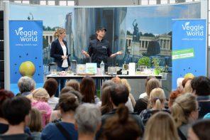 Veggie World in München am 30.04.2016. Foto: Andreas Gebert