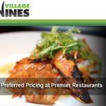 Village Vines: Discount-Reservierungen für ausgewählte Restaurants