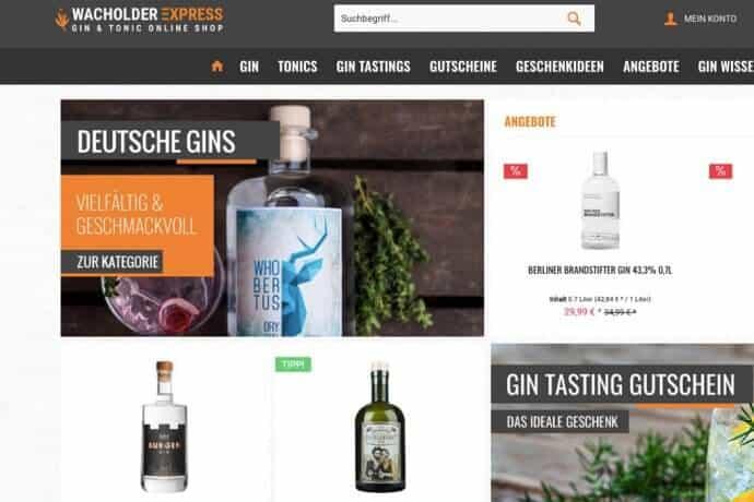 Von der Gin-Bar zum Gin-Onlineshop: Wacholder Express | nomy